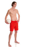 Beach Volleyball Player Royalty Free Stock Photo