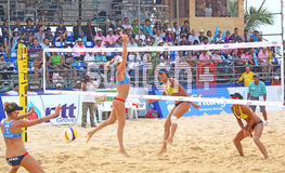 Beach Volleyball SWATCH FIVB World Tour 2011 Royalty Free Stock Images