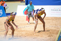 Beach VolleyBall Royalty Free Stock Image