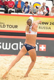 Beach Volleyball Swatch World Tour, Moscow Royalty Free Stock Photo