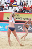 Beach Volleyball Swatch World Tour, Moscow Royalty Free Stock Image