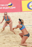 Beach Volleyball Swatch World Tour, Moscow Royalty Free Stock Photos