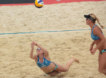 Beach Volleyball Swatch World Tour, Moscow Stock Photos