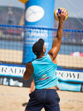 Beach volleyball tournament Stock Photography