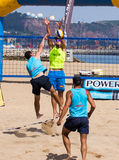 Beach volleyball tournament Royalty Free Stock Photos