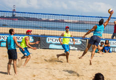 Beach volleyball tournament Stock Image