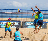 Beach volleyball tournament Royalty Free Stock Image