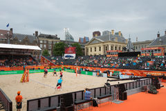 Beach Volleyball World Championships 2015 in The Hague Stock Images