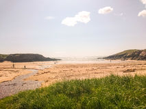 Beach in Wales Royalty Free Stock Image