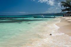 Seven mile beach stock photos