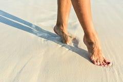Beach Walking Royalty Free Stock Images