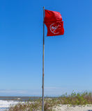Beach Warning Flags Royalty Free Stock Photos