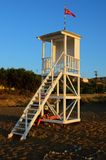 Beach Watch Tower Stock Photos