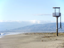 Beach watch tower, Nijar (Spain) Stock Image