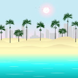 Beach. Royalty Free Stock Images
