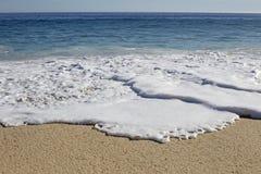 Beach wave closeup Stock Photography