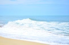 Beach Wave Sea Surf Blue Stock Images