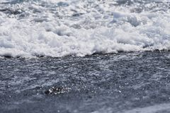 Beach waves. Background material of the beach waves royalty free stock image