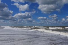 Beach waves Stock Images