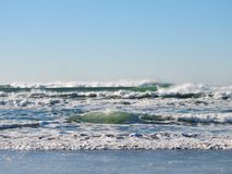 Beach, Waves, Ocean, Pacific, Water Royalty Free Stock Photos