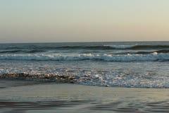 Beach waves. Ocean waves at Pismo Beach in California Royalty Free Stock Photos