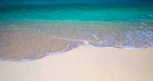Beach Waves Panorama Stock Images