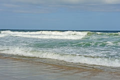 Beach, Waves, and Sand-Atlantic Ocean Stock Images