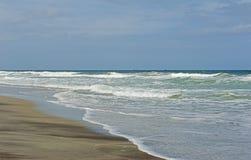 Beach, Waves, and Sand-Atlantic Ocean Royalty Free Stock Photo