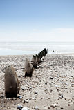 Beach weather coast winchelsea england Stock Photo