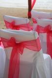 Beach wedding. Tropical Mexican beach wedding closeup stock image