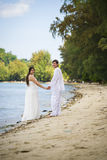 Beach wedding Stock Photography