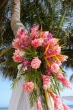 Beach wedding bouquet Stock Photos