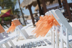 Beach Wedding in Cancun, Mexico Stock Photos