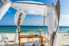 Beach Wedding Curacao Views Stock Photos