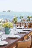 beach wedding decor  Royalty Free Stock Photo