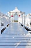 Beach wedding set Royalty Free Stock Image