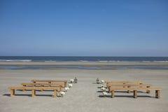 Beach wedding venue. Stock Photography
