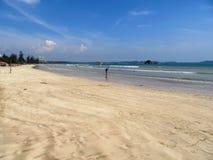On the beach of Weligama / Sri Lanka Stock Photo