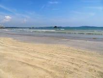 On the beach of Weligama / Sri Lanka Royalty Free Stock Images