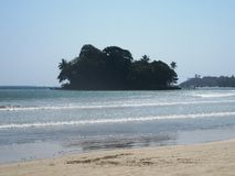 On the beach of Weligama / Sri Lanka Stock Photography