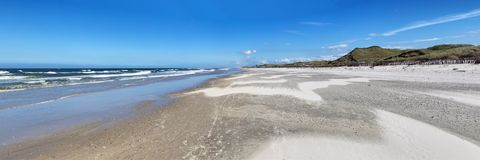 Beach on Juist Royalty Free Stock Photography