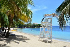 Beach of West End in Roatán, Honduras Royalty Free Stock Image
