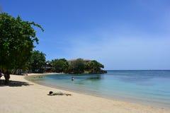 Beach of West End in Roatán, Honduras Royalty Free Stock Images