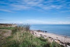 Langeland beach at daytime Stock Photos