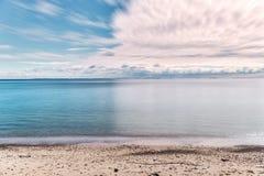 Langeland beach at daytime Royalty Free Stock Photography