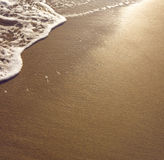 Beach wet sand Royalty Free Stock Photography
