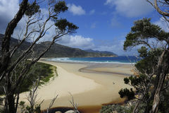 Beach in Wilsons Promontory NP Australia Stock Images
