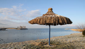 The Beach in winter. Royalty Free Stock Photography