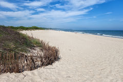 Beach in Wladyslawowo at Baltic Sea Stock Photo