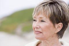 beach woman Fotografering för Bildbyråer